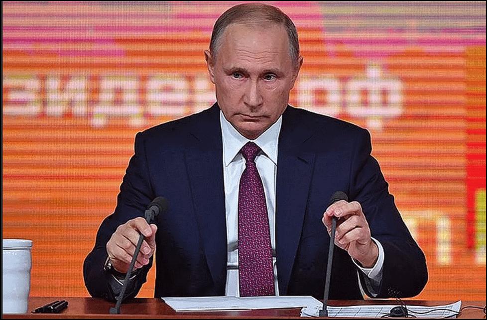 место пресс конференции путин 2019
